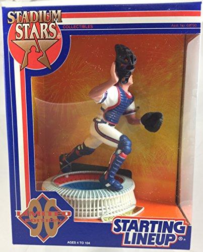 Stadium Fulton Atlanta (1996 KENNER STARTING LINEUP MLB STADIUM STARS JAVY LOPEZ ATLANTA FULTON COUNTY STADIUM BRAVES SEALED IN PACKAGE)