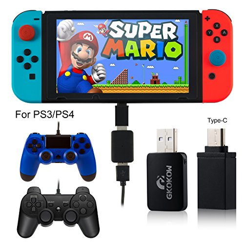 Nintendo Switch Game Controller Joy Con Converter with OTG Type C Support TV HandHold Model