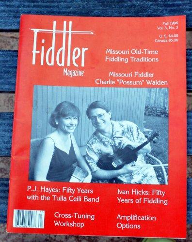Fiddler Magazine Fall 1996 Vol. 3 No.3