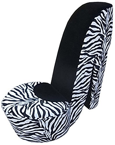 Zebra Accent Chair - 3