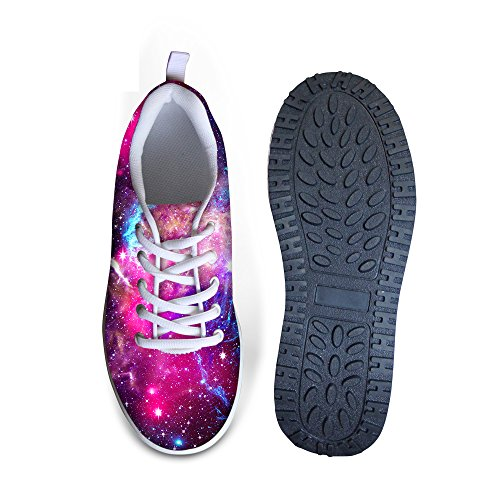 Fashion FOR Shoes U DESIGNS Platform Strength Fitness Galaxy Swing Sneaker Walking 5 Womens HrrEvqxnwR