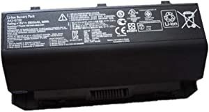 LQM 15V 5900mAh/88Wh New A42-G750 Laptop Battery for Asus G750 G750J G750JW G750JX G750JZ G750JH G750JM G750JS G750Y47JX-BL