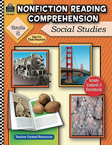 Nonfiction Reading Comprehension: Social Studies, Grade 5: Social Studies, Grade 5
