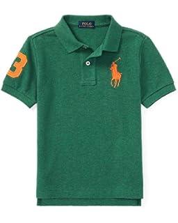 Amazon.com  Polo Ralph Lauren Girls Polo Shirt  Clothing 34de7c6b9fa6