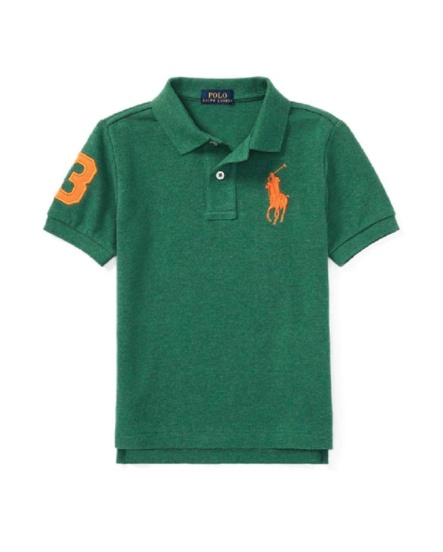 718fc54e Top1: Polo Ralph Lauren Boys (8-20) Big Pony Shirt Long Sleeve Mesh Cotton