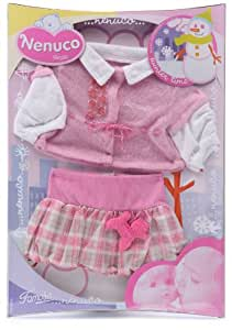 Famosa Nenuco 700006261 - Ropa de invierno para bebé (niña)