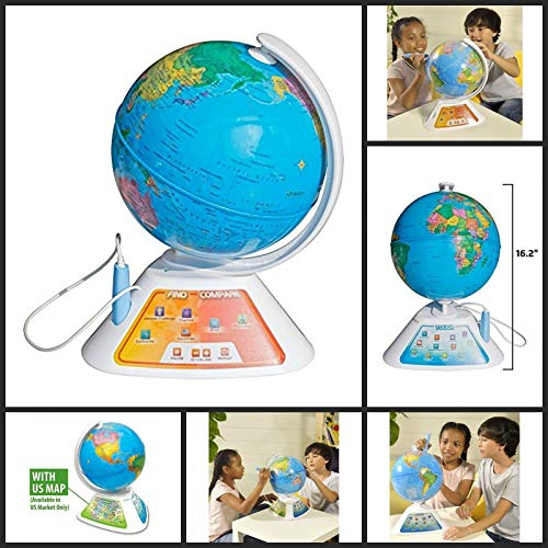 Oregon Scientific Smart Globe Discovery Educational World Geography Kids - Learning Toy]()