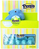 Peeps Marshmallow Chicks with Special Plush (Blue) (10 Chicks)