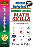 Mastering Essential Math Skills BookGrades 4-5 Redesigned library version