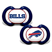 Baby Fanatic Buffalo Bills 2 Piece Pacifier Set