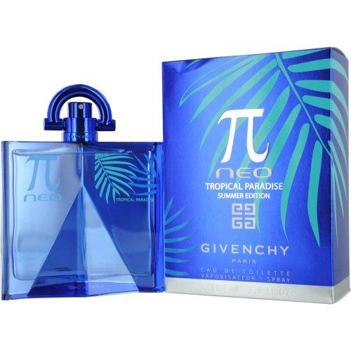 GIVENCHY Pi Neo Tropical Paradise Eau De Toilette Spray, 3.3 Ounce
