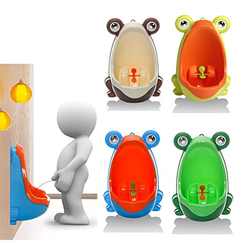 [Frog Children Potty Toilet Training Kids Urinal for Boys Pee Trainer Bathroom#2] (Halloween Costumes For 12 Month Old Girl)