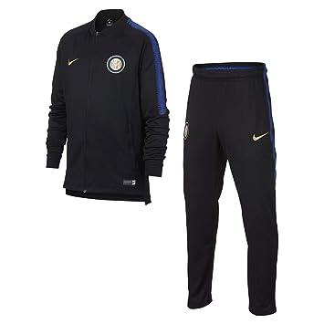 Nike Inter Chándal Knit Jr, Traje de fútbol niño, niño, 921164-011 ...