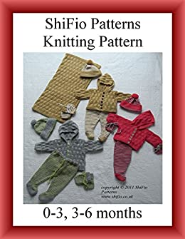Knitting Pattern Baby Matinee Jacket, Hat & Booties 2 Sizes #188 Not Clothes