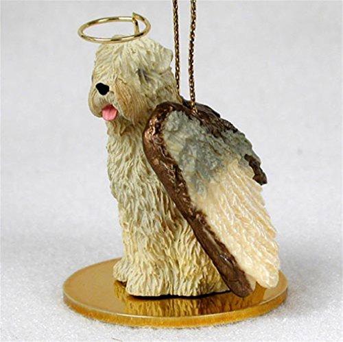 (Ky & Co YesKela Soft Coated Wheaten Dog Figurine Angel Statue)