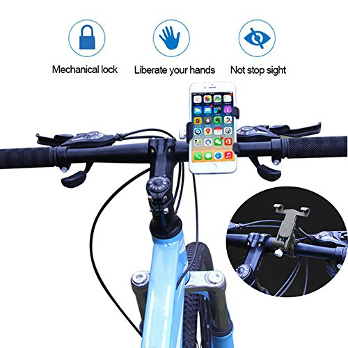 [해외]Jcoze 자전거 오토바이 홀더 마운트 아이폰 & amp; /Jcoze Bicycle Motorcycle Holder Mount For Iphone & Andriod Phone Shockproof Anti-Slip 360° Rotatable Bike Phone Holder