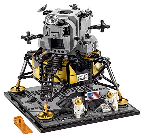 LEGO Creator Expert NASA Apollo 11 Lunar Lander 10266 Building Kit (1,087 Pieces)