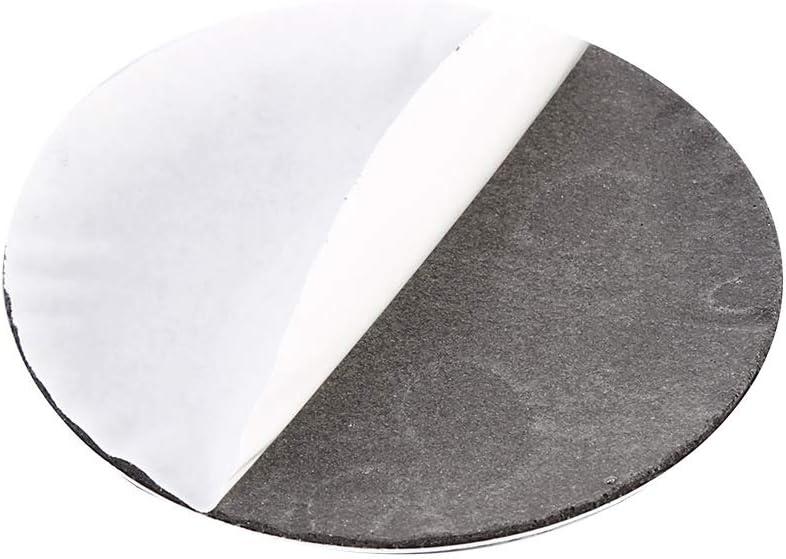 Keenso Universal 56,5 mm Auto Rad Center Cover Aufkleber Emblem Abzeichen Radnabenkappen Mittelabdeckung Aufkleber 4 St/ück