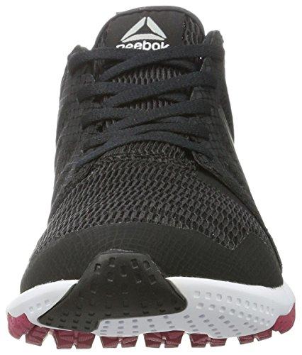 Reebok Bd5572, Zapatillas de Trail Running Mujer Negro (Black / Coal / Pink Craze / Pewter / White)