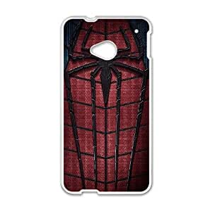 HTC One M7 Cell Phone Case White The Amazing Spider Man 2014 Ljned