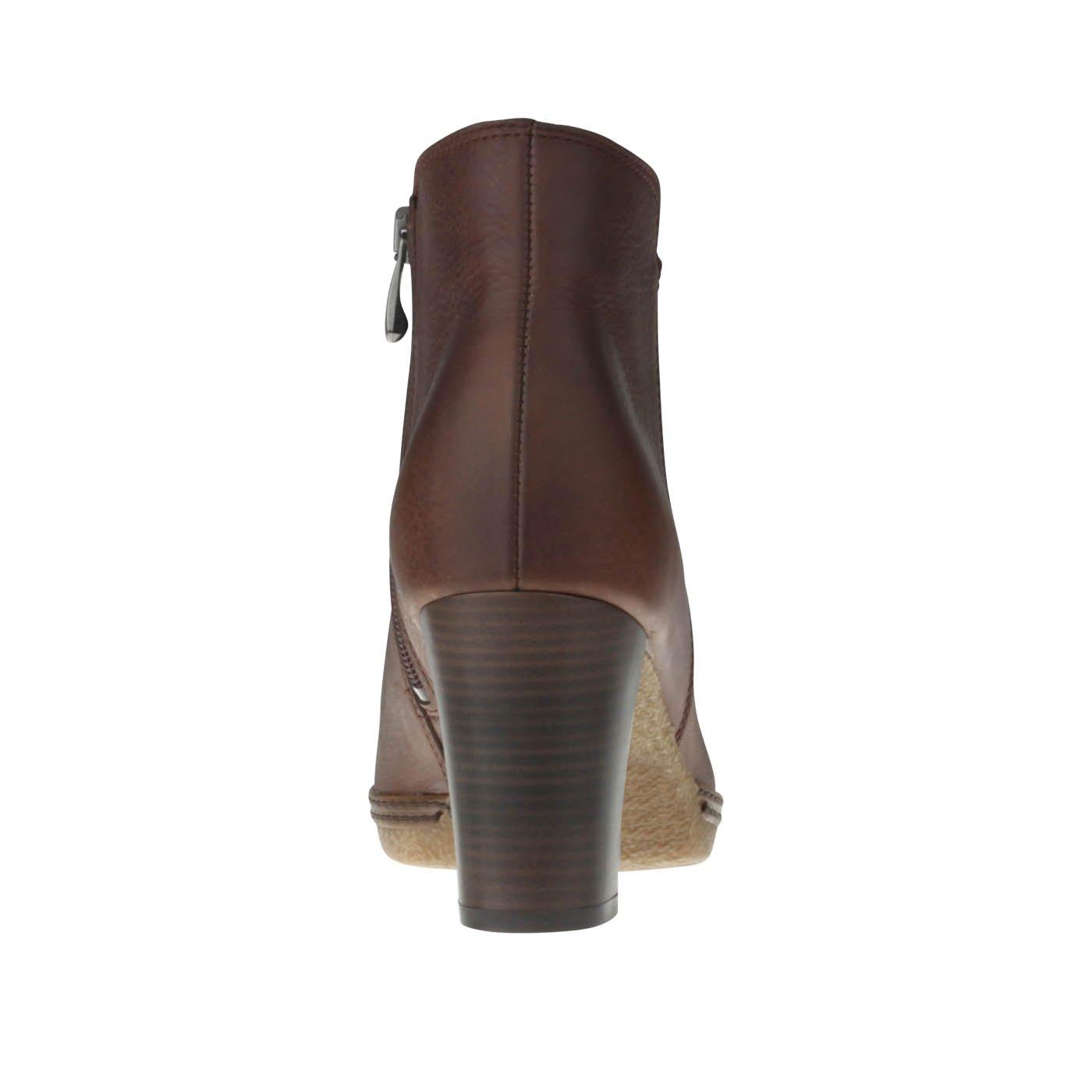 Tessamino Damen Stiefelette   aus Echtleder     mit Lederfußbett   Warmfutter 05a95f