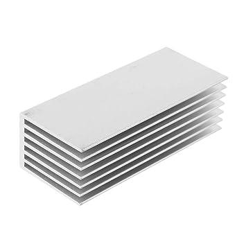 Ranuw NVME M.2 NGFF SSD Disco duro de estado sólido enfriamiento ...