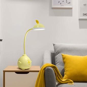 Lámparas de mesa y mesilla de noche LED lámpara de escritorio de ...