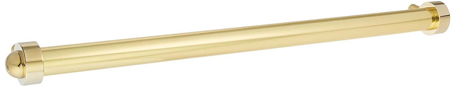 Allied Brass 402A-RP-PB 18 Inch Refrigerator Pull, Polished Brass