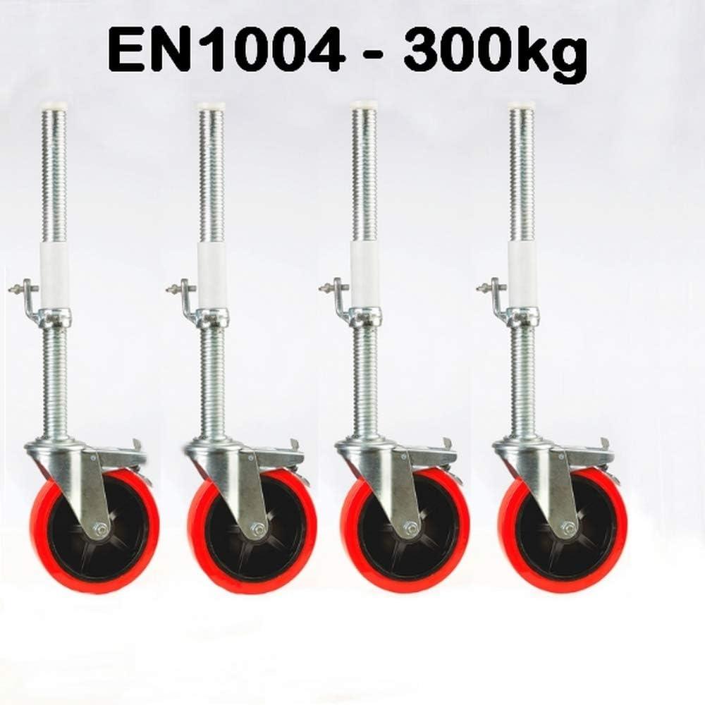300 kg Pro Rad Ger/üstrolle 200 mm
