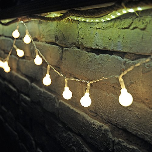 Dailyart 13feet/4m Long Globe String Light Starry Light for ...