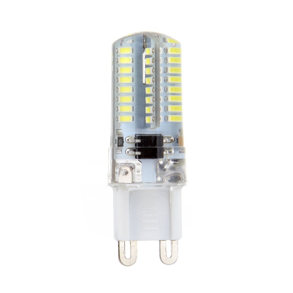 cciyu G9 LED Corn Crystal Light Bulbs 360 Degrees Energy Saving Capsule Spotlight Lamps,G9 Daylight White Bulbs Replacement fit for Home Lighting10 Pack by CCIYU (Image #5)