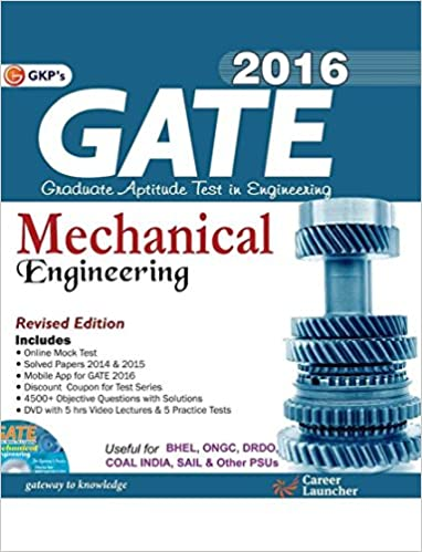 GATE MECHANICAL BOOKS PDF DOWNLOAD