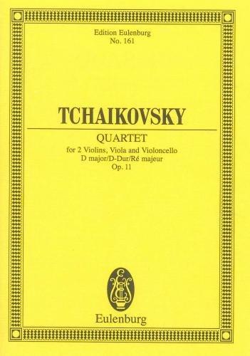 Tchaikovsky: String Quartet No. 1 in D major, Op.11 (Study Score) (Tchaikovsky String Quartet No 1 In D Major)