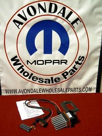 jeep grand cherokee 1999 2004 blower motor resistor \u0026 wiring kit mopar oem Mopar Dodge Avenger