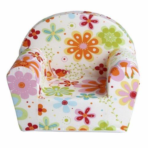fauteuil club enfant motifs fleurs: amazon.fr: cuisine & maison - Chaise En Mousse Pour Bebe