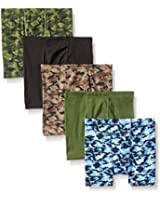 Hanes Boy's 5 Pack Comfortsoft Boxer Brief - Colors May Vary