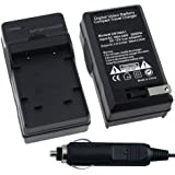 Nikon EN-EL10 AC / DC Replacement Battery Charger Set for Nikon CoolPix S200 / S210 / S220 / S230 / S3000 / S4000 / S500 / S510 / S520 / S570 / S60 / S600 / S660 / S700 Digital SLR Camera