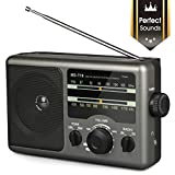AM FM Portable Radio Battery Operated Radio by 4X D Cell Batteries Or...
