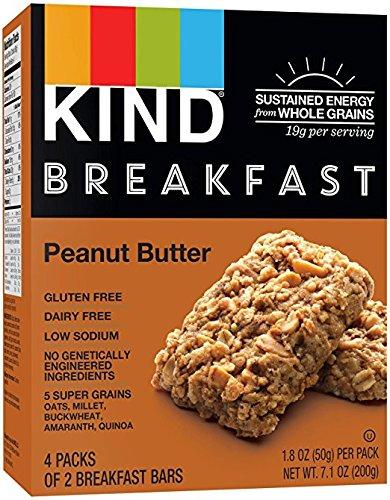 Kind, Breakfast Bars, Peanut Butter, 8 bars per box ( 2 PACK)