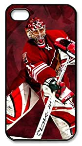 icasepersonalized Personalized Protective Case for iphone 4 - NHL PHOENIX COYOTES CURTIS JOSEPH