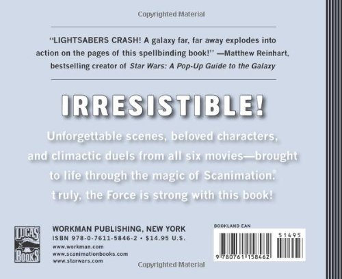 star wars scanimation book ebay