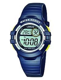 Lorus R2381H Digital Alarm Chronograph Polyurethane Strap Watch