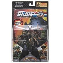 "G.I. JOE Hasbro 25th Anniversary 3 3/4"" Wave 4 Action Figures Comic Book 2-Pack Duke Vs. Red Star"