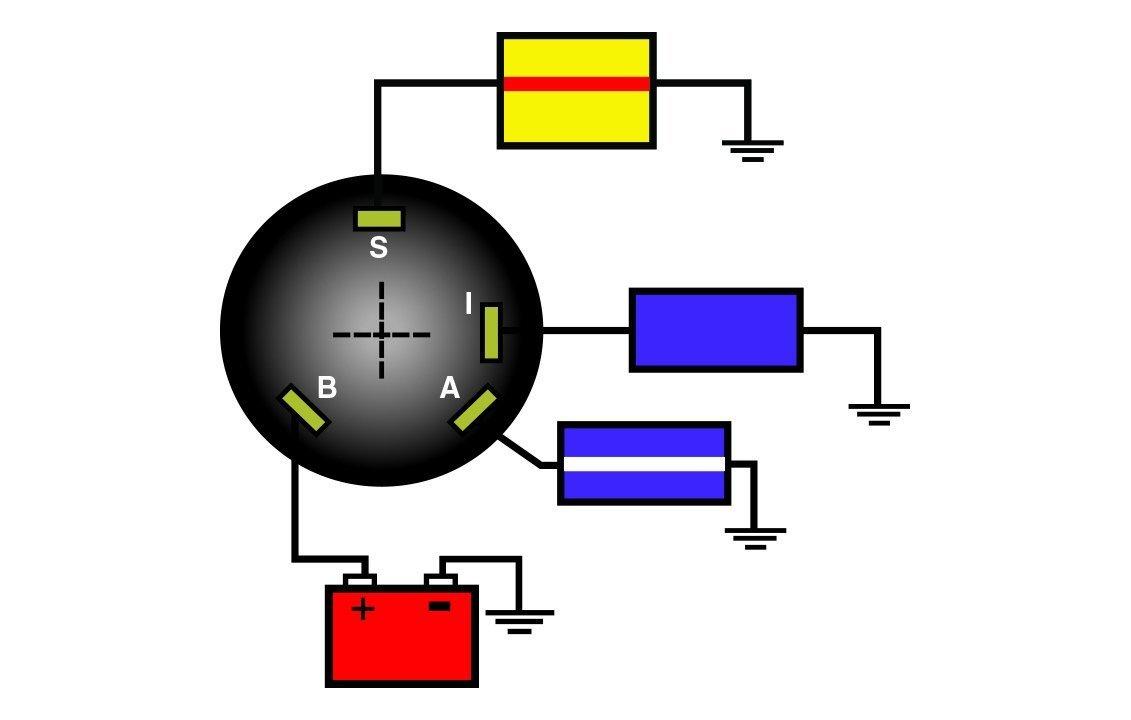 Sierra Mp41040 Ignition Switch Acc Off Run Start 1996 Lowe Boat Wiring Diagram Automotive