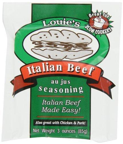 Louie's Italian Beef Seasoning, 3-Ounce (Pack of 8)