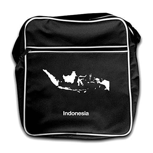 Silhouette Black Red Flight Bag Indonesia Retro dxYwqzPZ