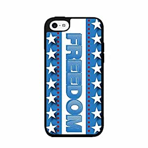 Freedom TPU RUBBER SILICONE Phone Case Back Cover iPhone 5 5s by lolosakes