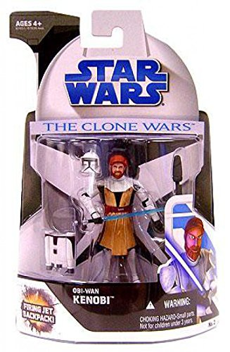 Star Wars The Clone Wars Obi-Wan Kenobi Action Figure