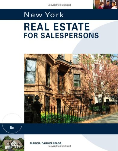 New York Real Estate for Salespersons by ONCOURSE LEARNING
