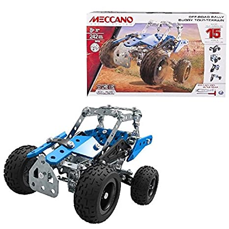 Meccano Tech Metallbaukasten ATV Model Set